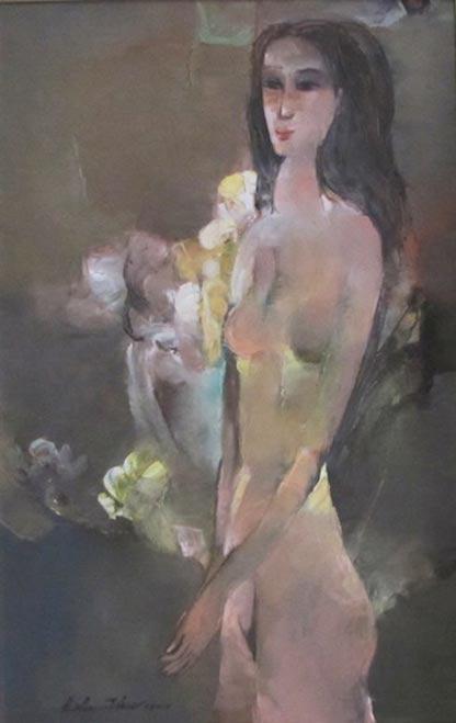 Nude -Vietnamese Painting