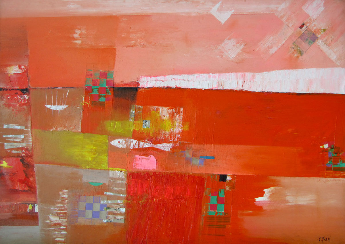 Abstract 01-Vietnamese Painting