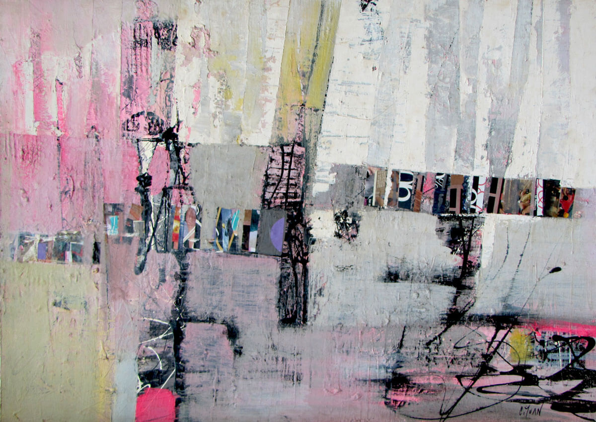 Abstract -Vietnamese Painting