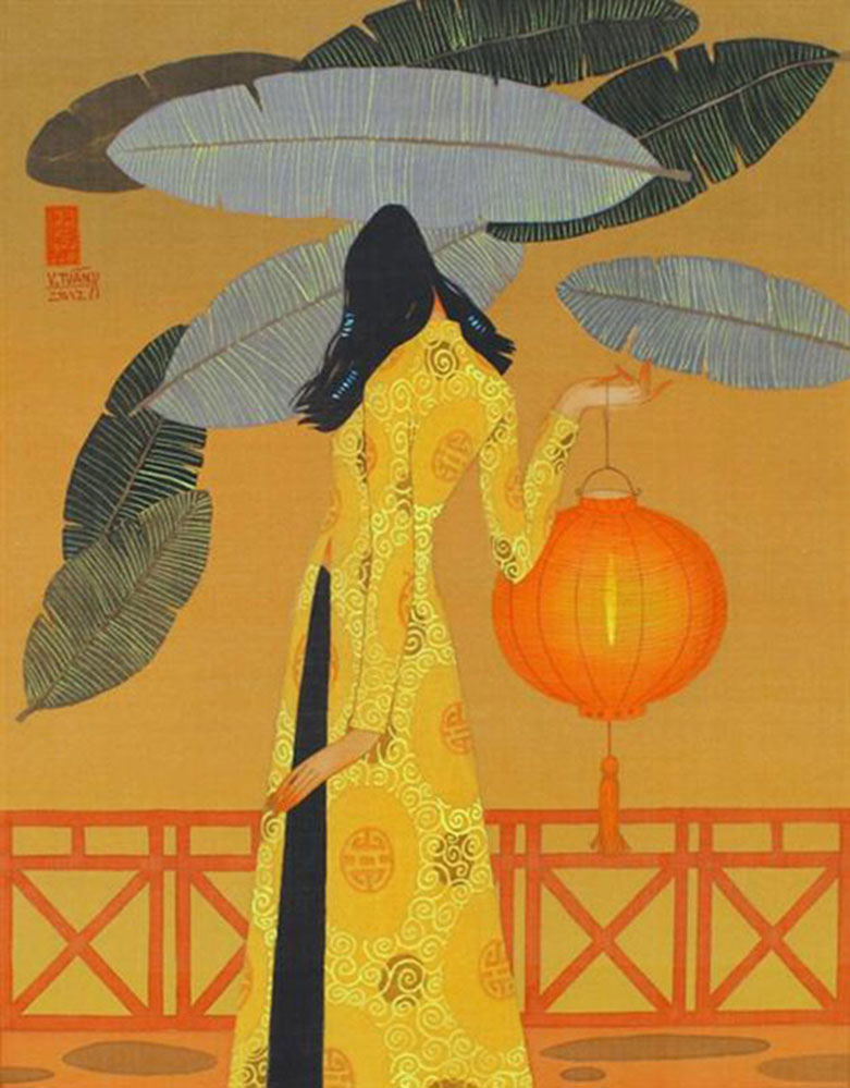 Autumn noon 2-Vietnamese Painting