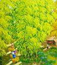 Autumn pond 04 - DNS-Original Vietnamese Art