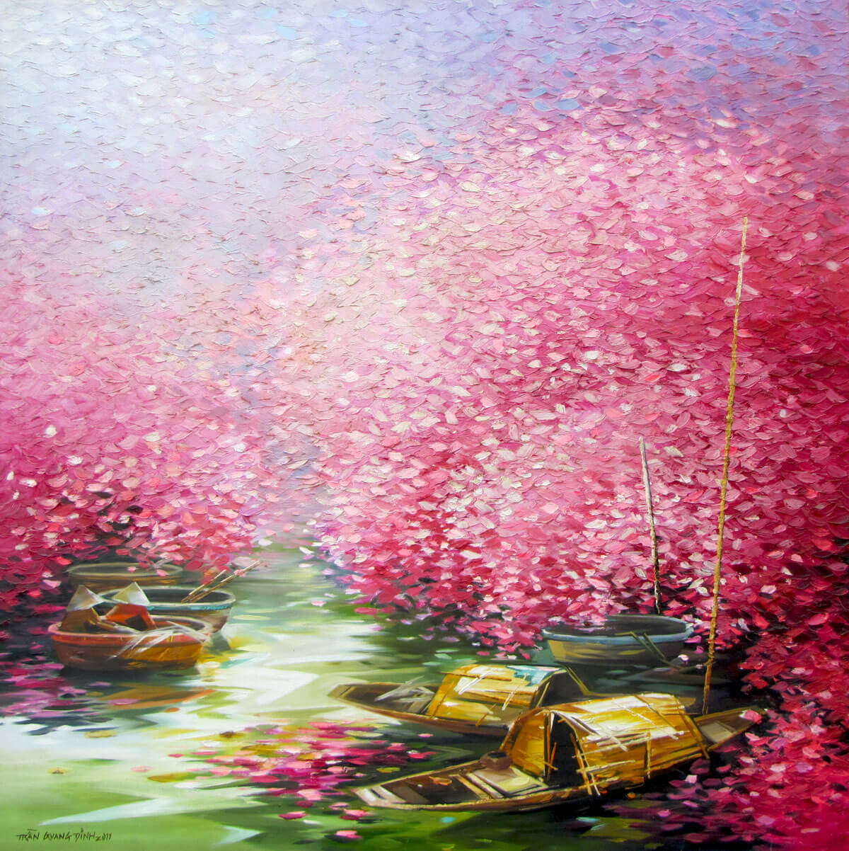 Blossom season 02-Original Asian Art