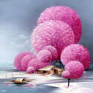 Blossom trees-TQD-60x60cm