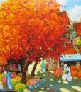 Blossom trees in Summer - DNS9-Original Vietnamese Art
