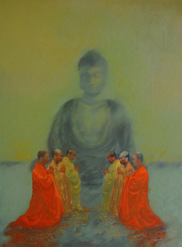 By the Enlightened One-Original Vietnamese Art