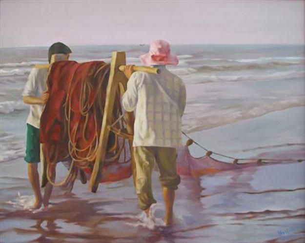 Come back home -Original Vietnamese Art Gallery
