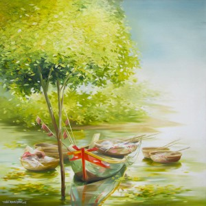 Coracles 02 -Original Asian Art