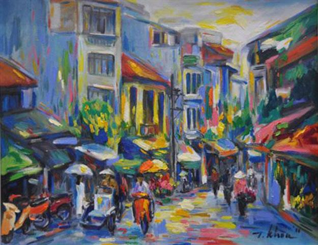 Dinh Liet str in Ha Noi-Original Asian Art