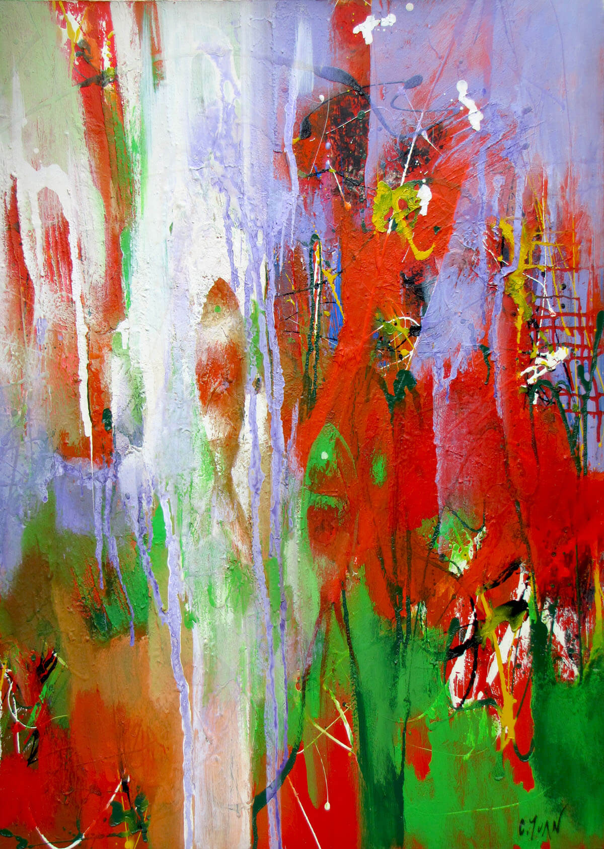 Downstream 02 -Vietnamese Painting