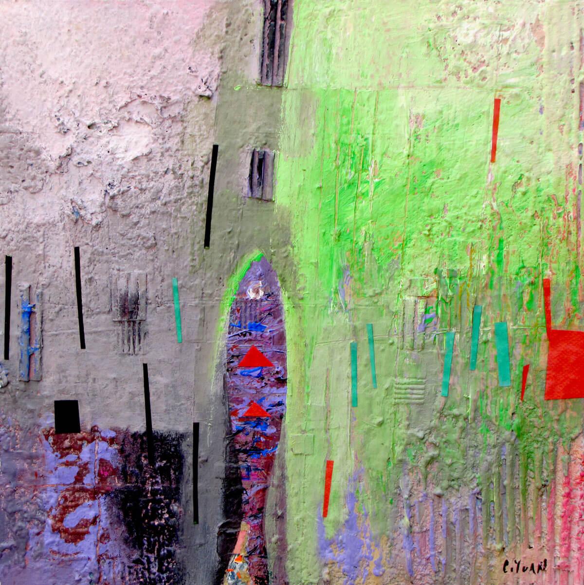 Downstream 3 -Vietnamese Painting