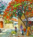 Early morning-Original Vietnamese Art