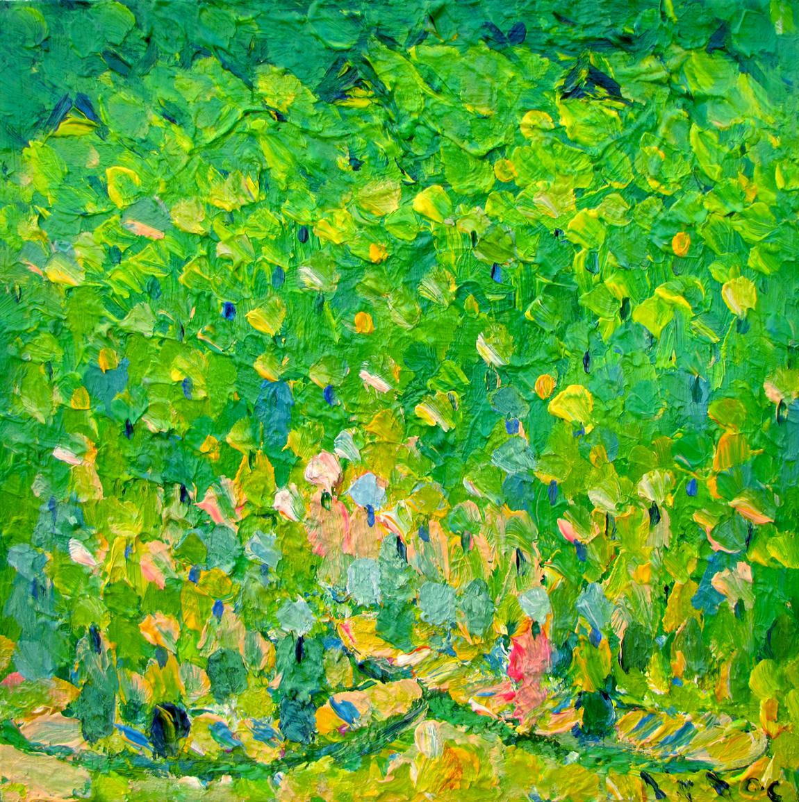 Flower Boats 02 - Original Vietnamese Art
