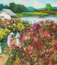 Flower garden 02-Original Vietnamese Art