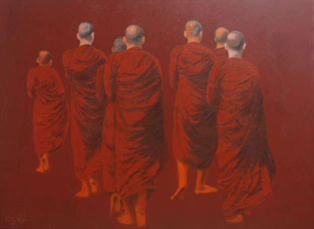 Go to The Perfect Universal Enlightenment -Original Vietnamese Art