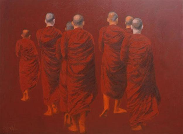 Go to The Perfect Universal Enlightenment -Original Vietnamese Art