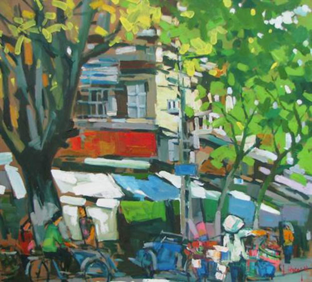 Hanoi in an ordinary day 3-Original Asian Art