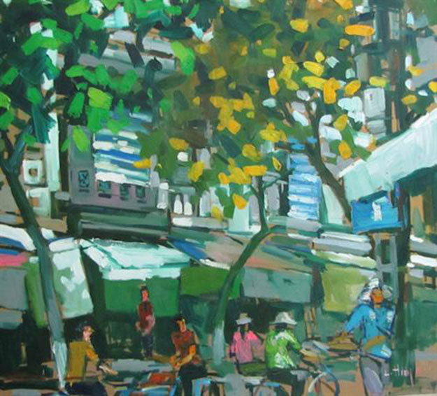 Hanoi end of Summer 01-Original Asian Art