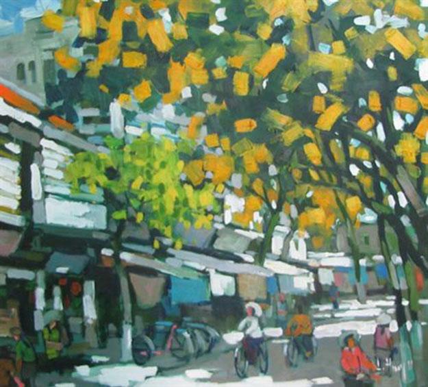 Hanoi end of summer-Original Asian Art