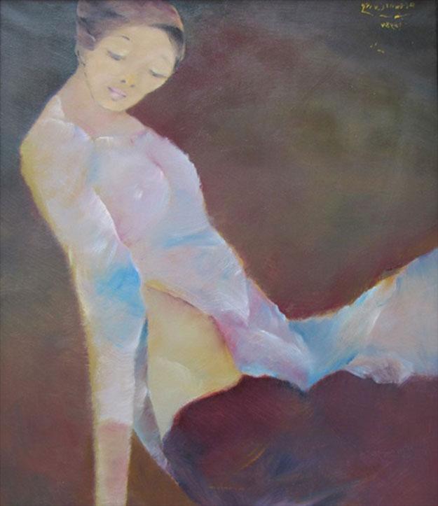 Lady-Original Vietnamese Art