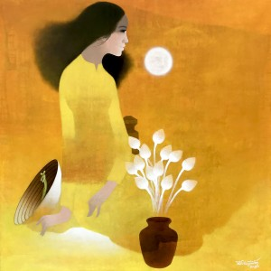 Lady in yellow-90x90