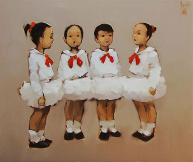 Little chorus-Original Vietnamese Art