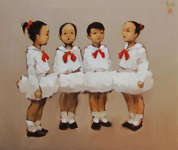 Little chorus-Original Vietnamese Art