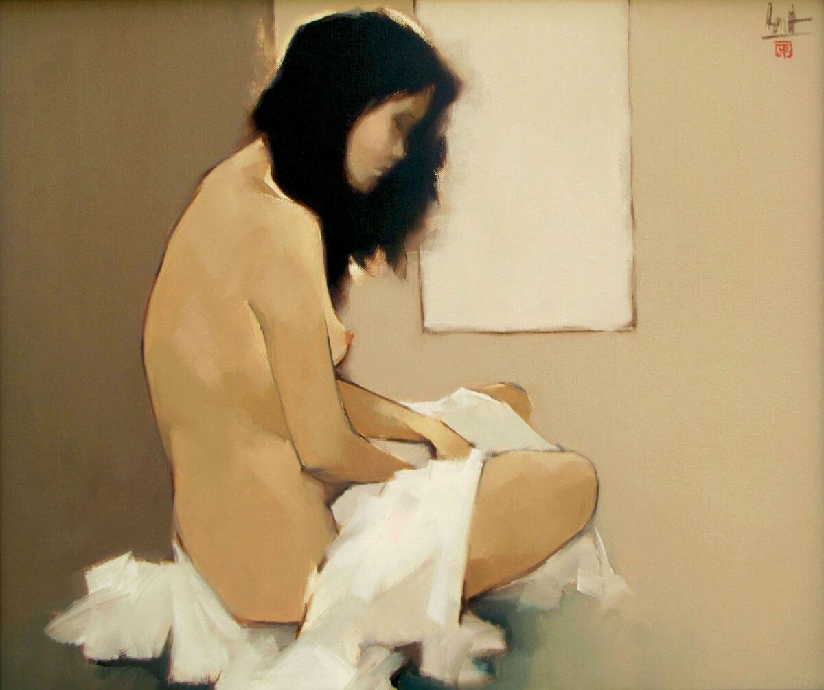 Asian figurative art|Vietnam Artist