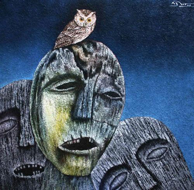 Night and Echoes-Original Vietnamese Art Gallery