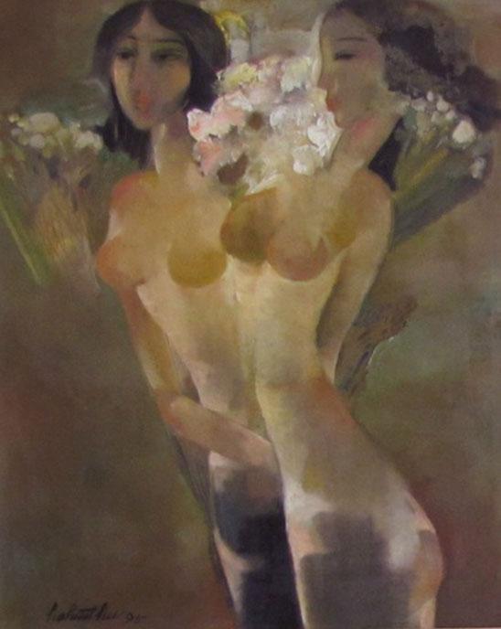 Nude 2 -Vietnamese Painting