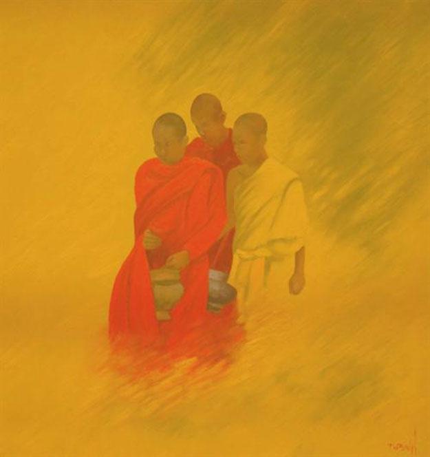 Pilgrim 03-Original Vietnamese Art