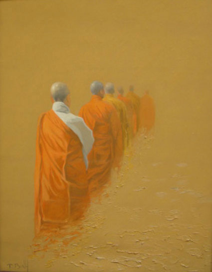 Pilgrimage 02-Original Vietnamese Art