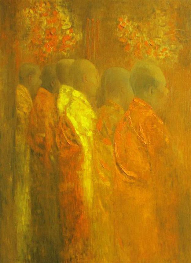Praying 01-Original Vietnamese Art