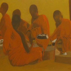 Prepare for Pilgrimage-Original Vietnamese Art