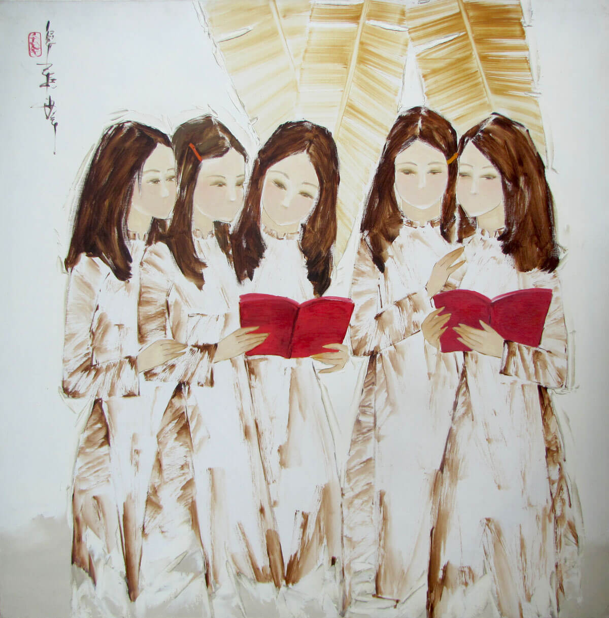 Sharing the book-Original Asian Art