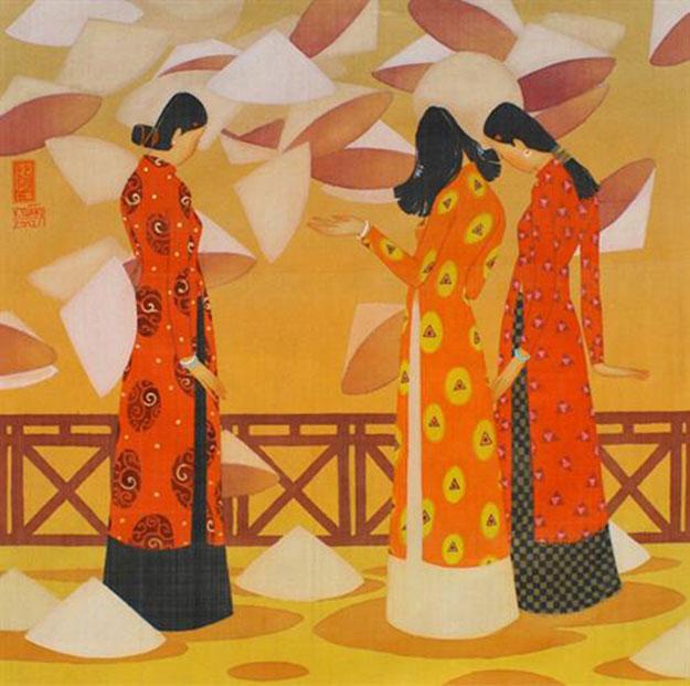 Summer-Vietnamese Painting