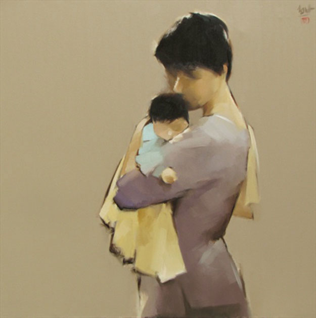 The Mother 01-Original Vietnamese Art