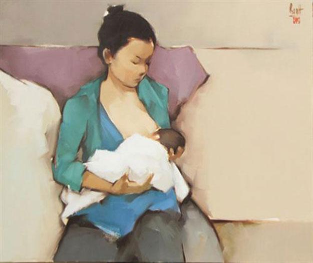 The Mother-Original Vietnamese Art