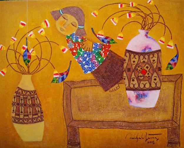 The Spring 02-Vietnamese Painting