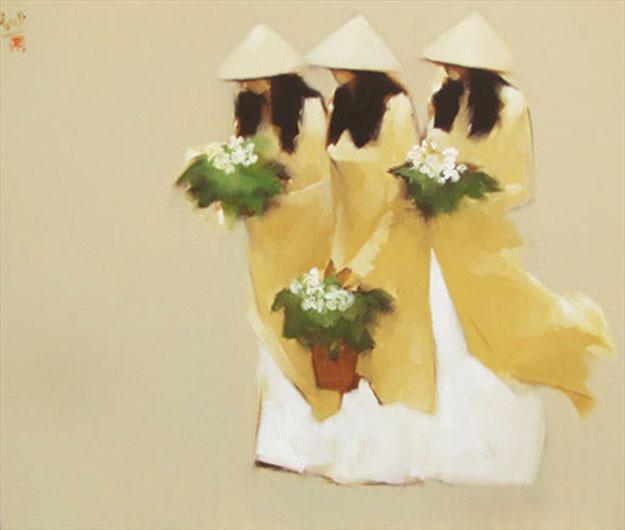 The Yellow-Original Vietnamese Art