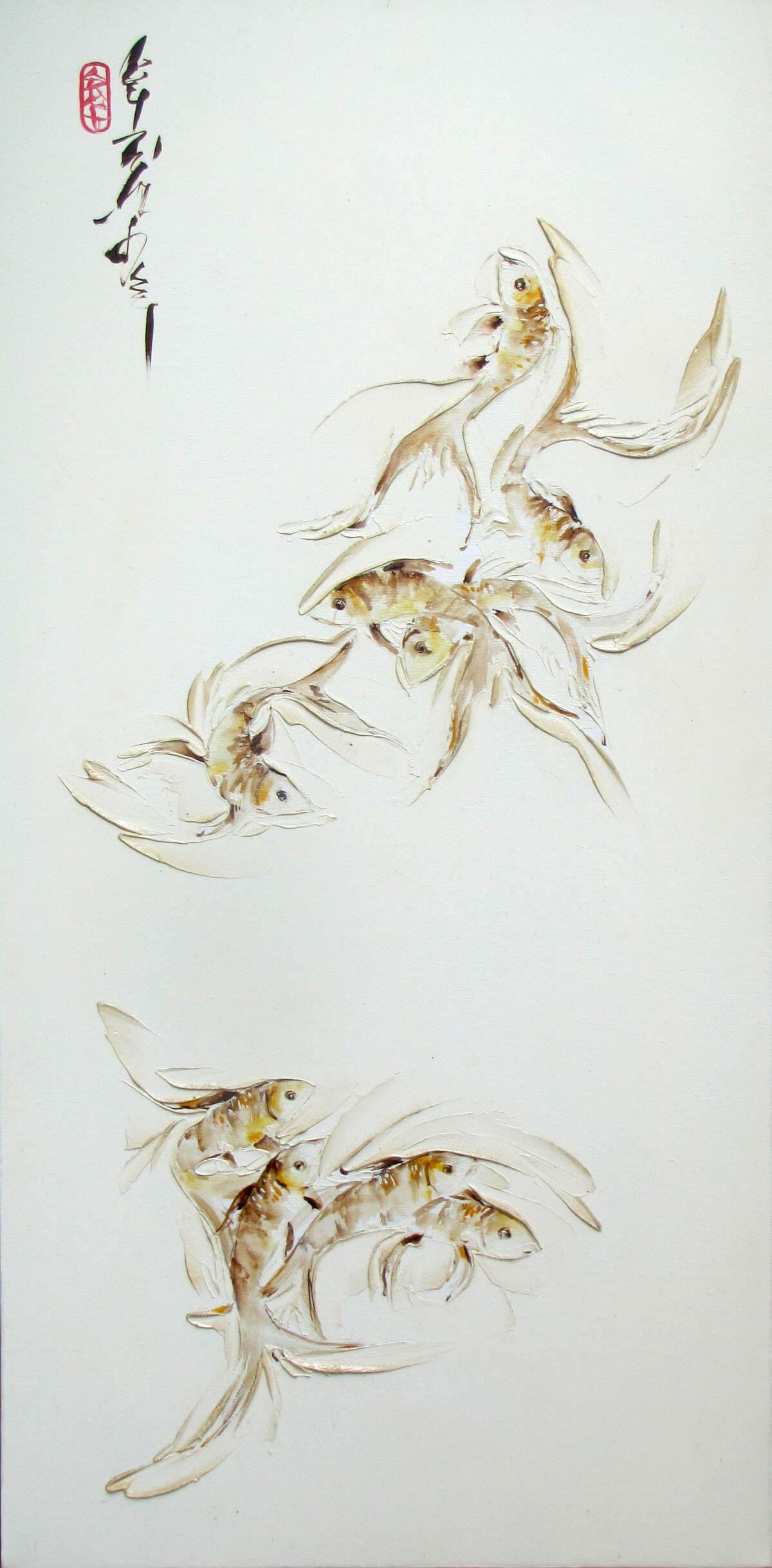 The fish 02 -Original Asian Art