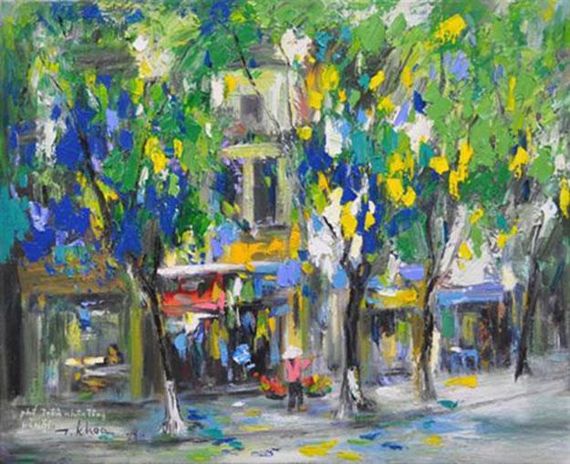 Tran Nhan Tong street-Original Asian Art