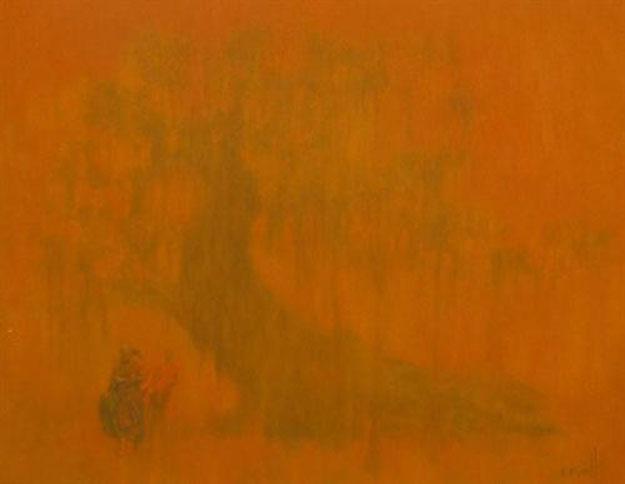 Under banyan tree 1 -Original Vietnamese Art