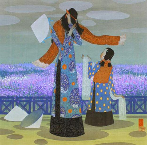 Winter-Vietnamese Painting