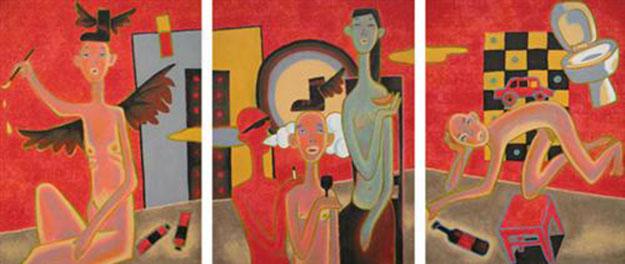 Yes or No 1 -Original Vietnamese Art Gallery