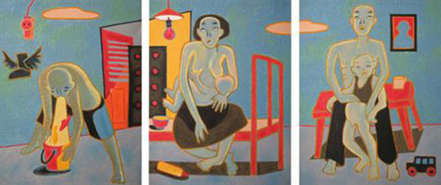 Yes or No 2 -Original Vietnamese Art Gallery