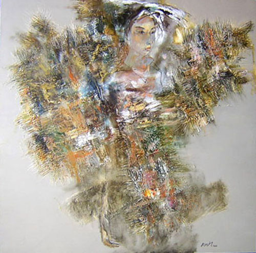 Young lady -Original Vietnamese Art Gallery