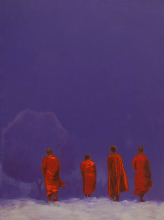 Towards Nirvana-Original Vietnamese Art