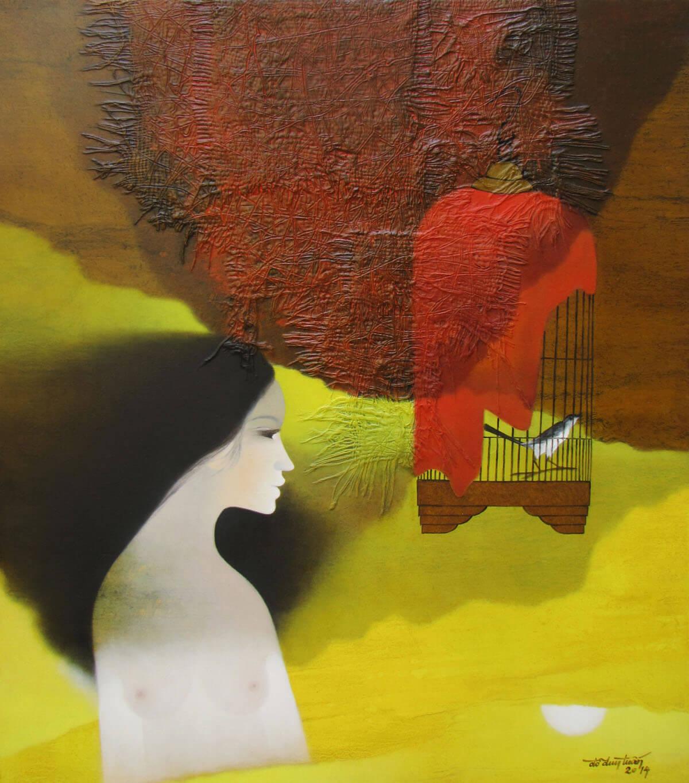 Young Lady -Original Asian Art