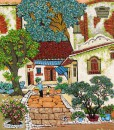 Country garden 02-Vietnamese Painting