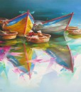 Boats-Original Asian Art
